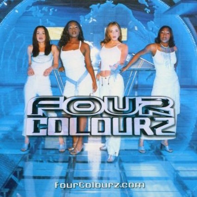 Four Colourz // Fourclourz.com // CD Cover Daniel Troha
