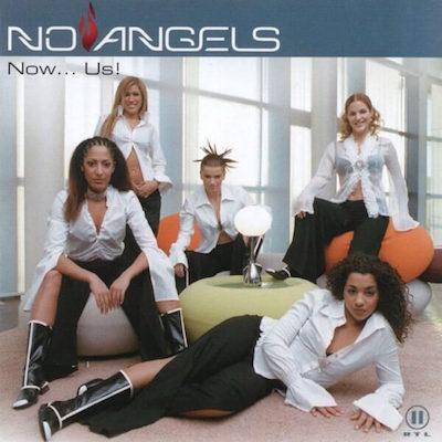 No Angels // Now Us // CD Cover Daniel Troha