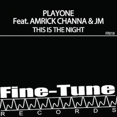 Play One // This Is The Night // CD Cover Daniel Troha